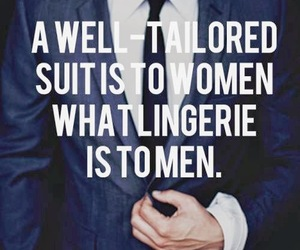suit, quote, and men image