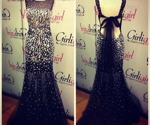 dress, prom dress, and ball gown image