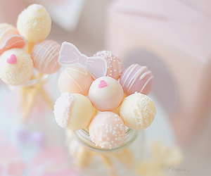 food, sweet, and pink image
