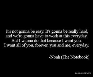 couple, quotes, and the notebook image