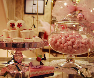 pink, candy, and sweet image