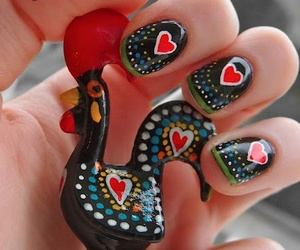 nails and portugal image