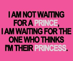princess, prince, and quote image