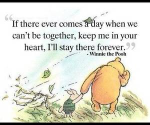 quotes, winnie the pooh, and forever image