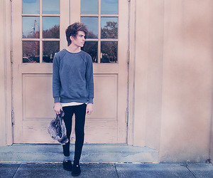 alone, boy, and lookbook image