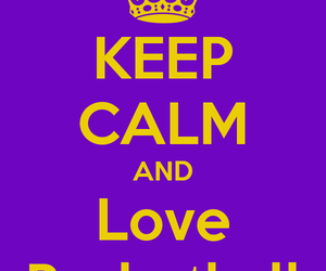 Basketball, keep calm, and quotes image