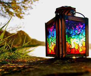 colorful and light image