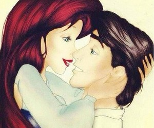 ariel, love, and couple image