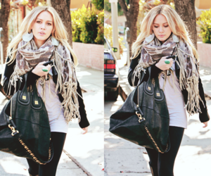 fashion, Hilary Duff, and blonde image