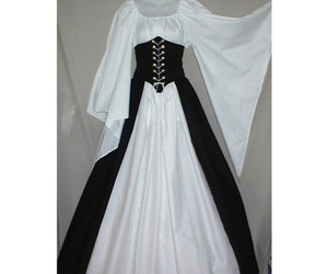 dress and medieval image