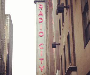 new york, photography, and radio city music hall image