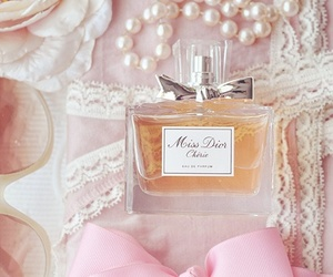 perfume, pink, and dior image