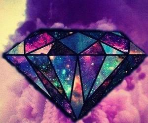 diamond and galaxy image