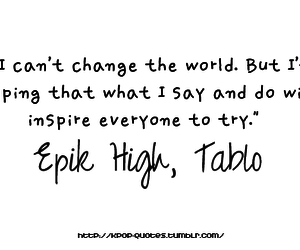 kpop, quotes, and epik high image