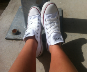 converse, buty, and trainers image