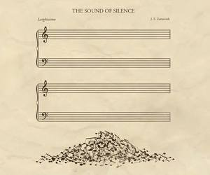 disegni, musica, and silence image