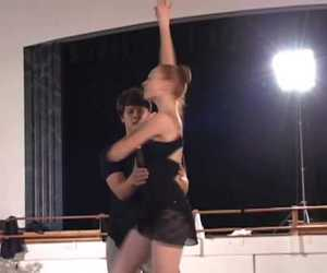 ballet and video image