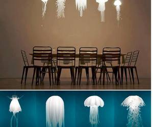 home, lamp, and jellyfish image