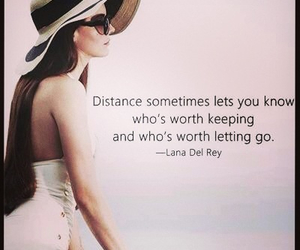 distance, quote, and song image