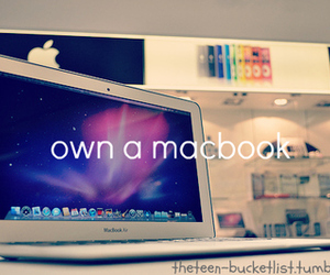 macbook, apple, and photography image