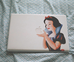 mac, snow white, and cute image