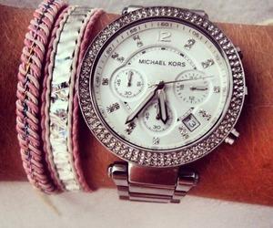 bracelets, pink, and summer image