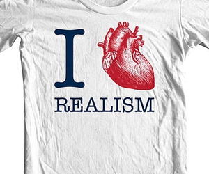 realism, heart, and t-shirt image