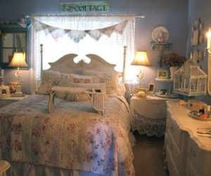 bedroom, Chambre, and vintage image