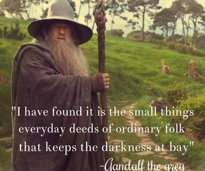gandalf, movie quote, and quote image