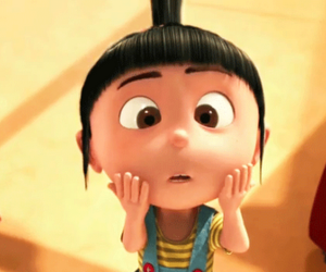 adorable, agnes, and despicable me image