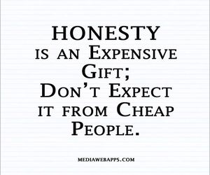 honesty and quotes image