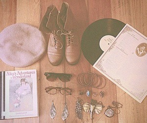 book, vintage, and boots image