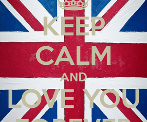 forever love, love, and kepp calm and.... image