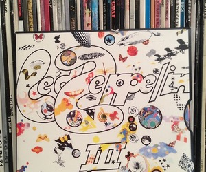 led zeppelin, lp, and rock image