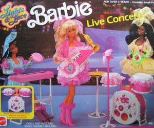 toys, cute, and barbie image