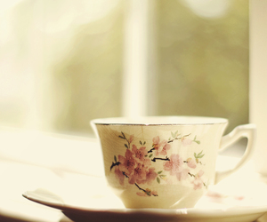 cup, tea, and teacup image