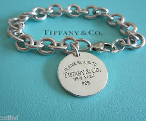 jewelry, silver, and tiffany image