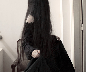 black, girl, and goth image