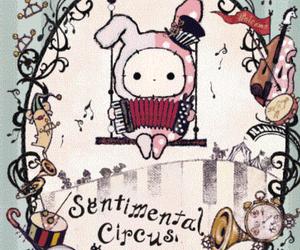 bunny, circus, and kawaii image