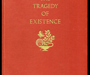 Existence, tragedy, and book image