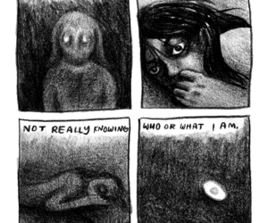 comics, dark, and gloom image
