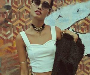 beautiful, girl, and style image