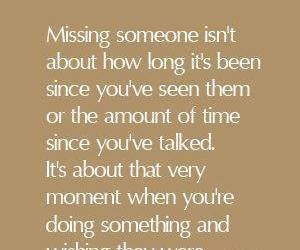 quote, missing, and Relationship image