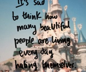 quote, beautiful, and hate image