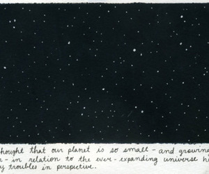 stars, universe, and quote image