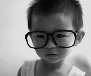 cute, glasses, and asian image
