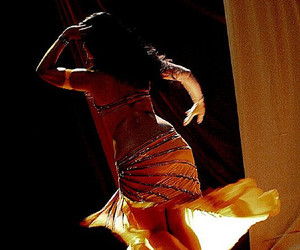 art, barefoot, and bellydancing image