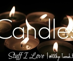 candles, follow, and stuff i love image
