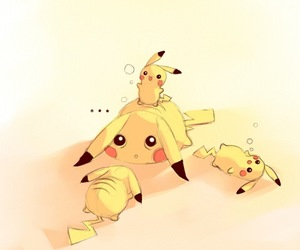 art, pikachu, and pokemon image
