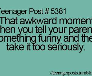 funny, quote, and teenager image
